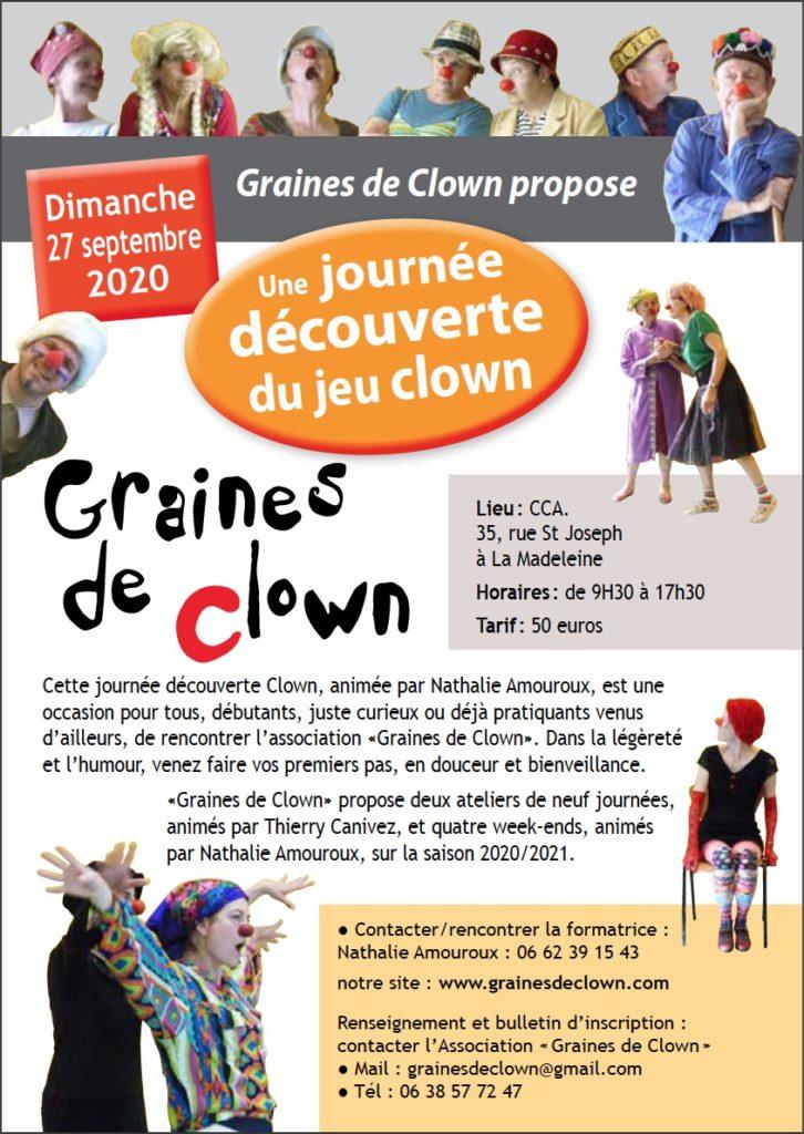 clown Lille nord La madeleine MEL