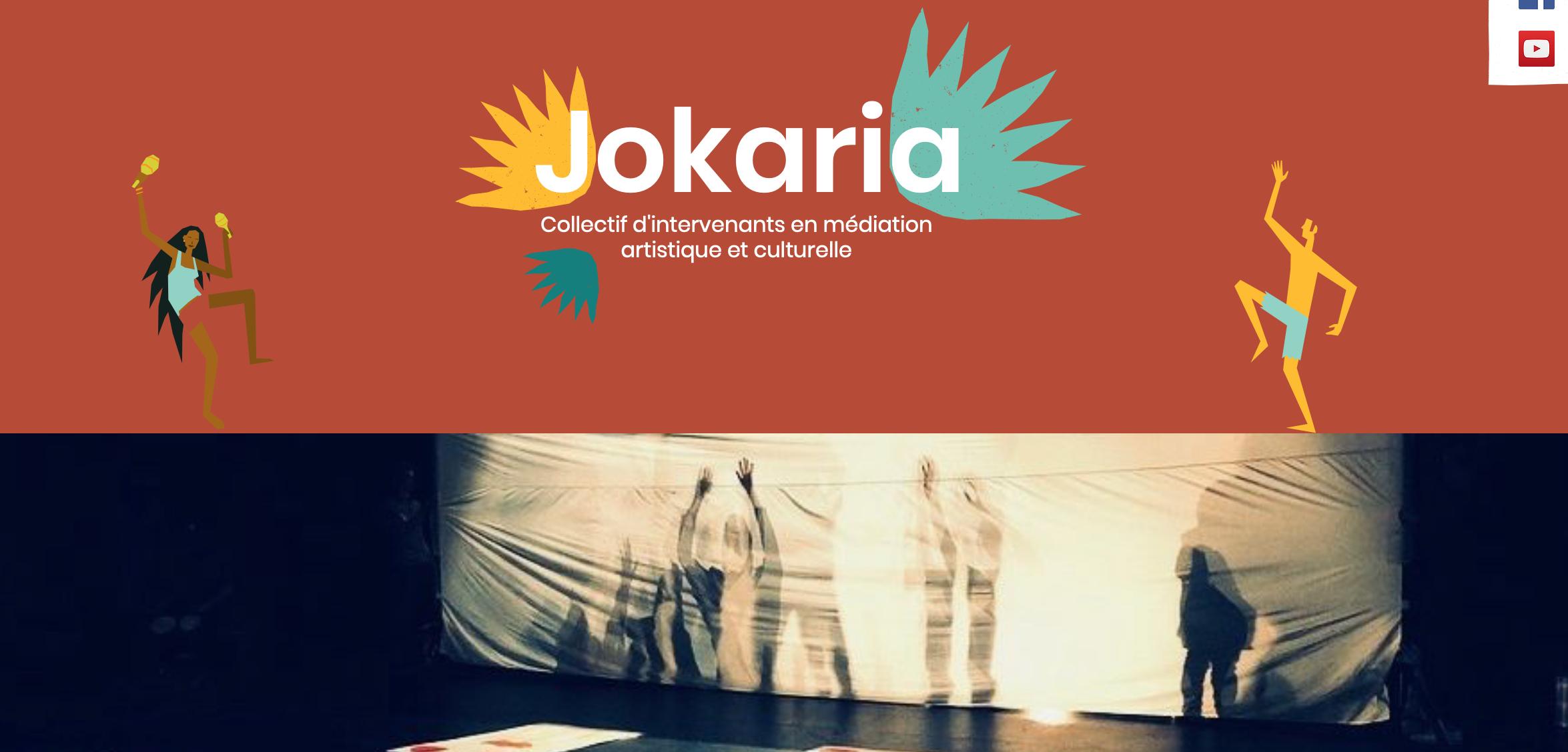 Collectif Jokaria - intervenants en médiation artistique et culturelle